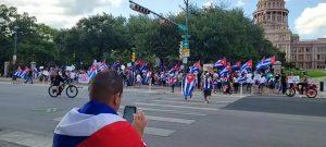 ImHiram - Hiram Live w Hiram Gilberto - Austin, TX - Cuba Protest - ATX Capitol ...