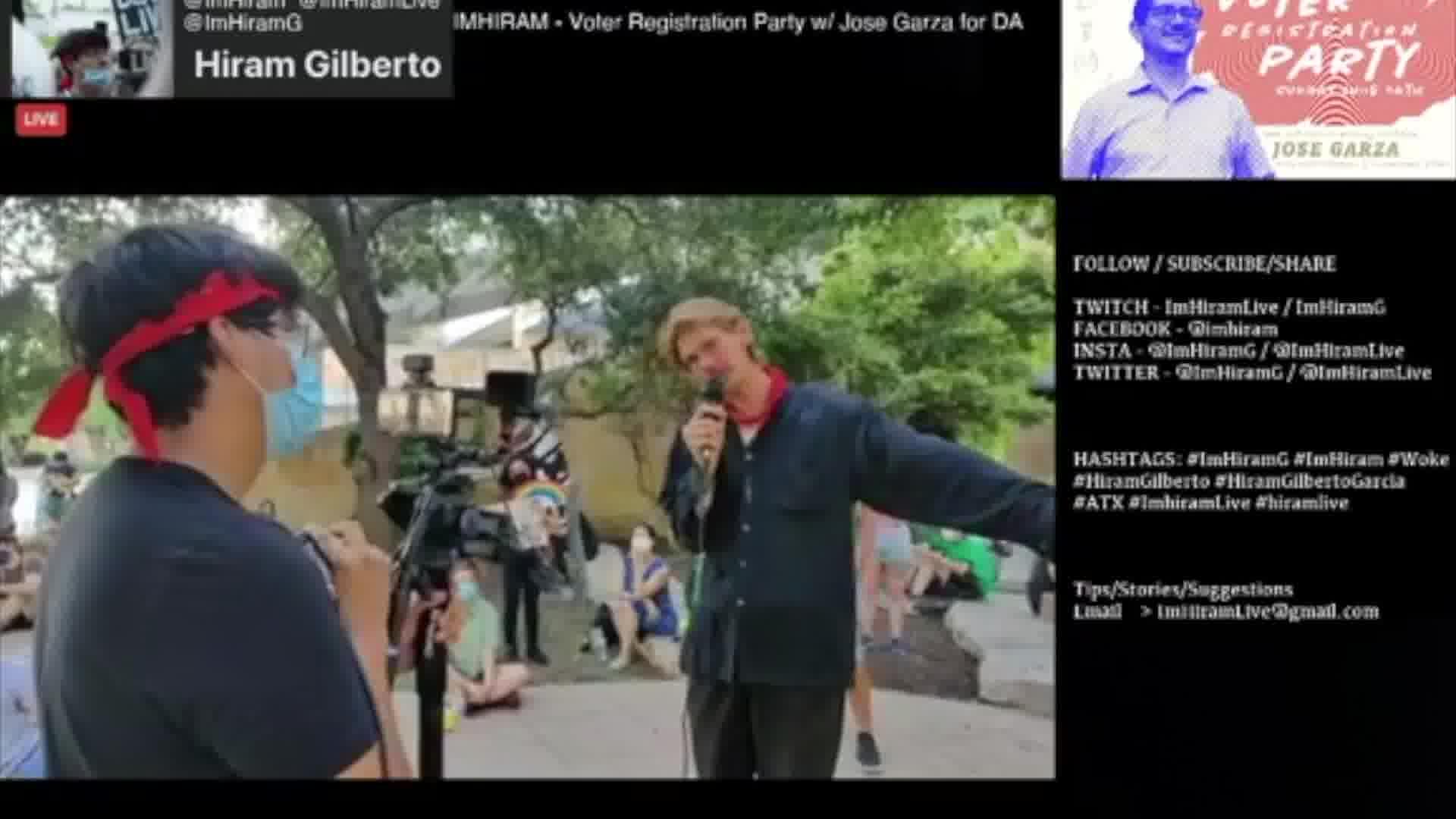 ImHiram - Hiram Live w/ Jose Garza and Peace in Austin 2020