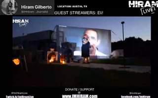 ImHiram - Hiram Live w Hiram Gilberto -  Austin, TX - Guest Streamer ELI!