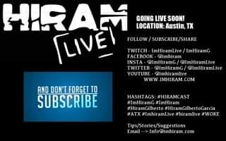 ImHiram - Hiram Live w/ Hiram Gilberto - Austin, TX - Rally to Defend Democracy