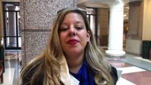 Activist, Commissioner and constituent Bertha Rendon Delgado explains what happe...