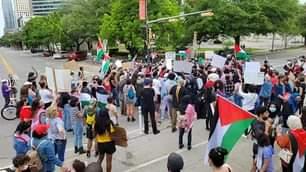 IMHIRAM- Hiram Live w/ Hiram Gilberto - Rally to support Palestine..Austin,TX  C...