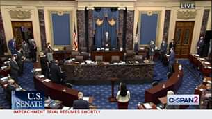 U.S. Senate Impeachment Trial of Former President Trump - Via C-SPAN...   *watch...
