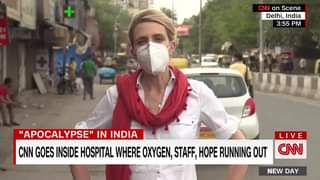 Video of India's hospitals show us just how badly hit by COVID people have been ...